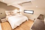 BRUN Chalet Cocoon @Birrien chambre lit en 160 WEB
