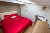 BRUN Chalet Cocoon @Birrien chambre2 lit en 160 WEB