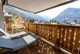 BRUN Chalet Comfort @Birrien balcon transat