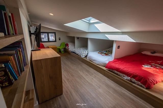BRUN Chalet Cocoon @Birrien chambre compartiments lits en 80 web